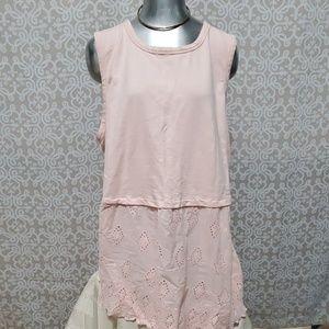 Livi Active Light Pink Short Sleeve Tunic